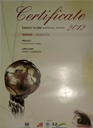 Energy Globe Award for Sustainability 2012
