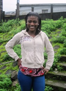 Etchu Ebangha Tako. Environmental Volunteer at Green Cameroon