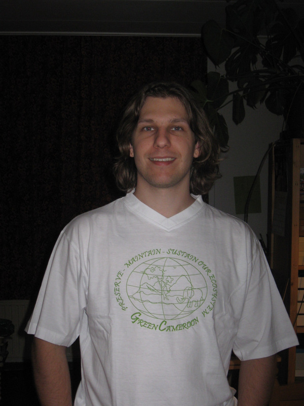 Eelko Meester. Environmental Volunteer at Green Cameroon