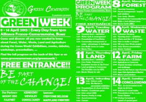 Flyer Green Week