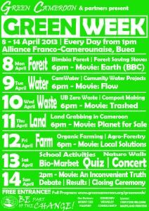Poster Green Week