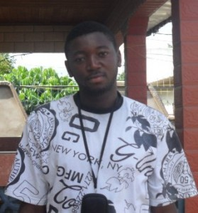 Njeke Joshua. Environmental Volunteer at Green Cameroon