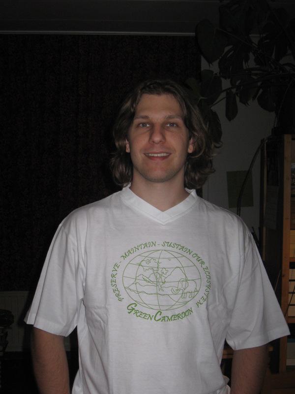 Eelko Meester. Environmental Volunteer at Green Cameroon