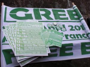 Green Week Promo Material