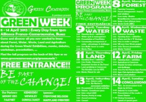 Flyer Green Week