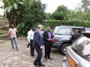 Green Cameroon.Australian High Commissioner2