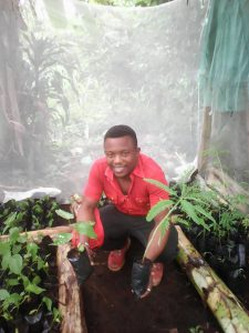 Dear Friends and supporters of Green Cameroon. We are pleased to bring you feedback on our Green Mount Cameroon project which we started in October 2016 supported by the Eco-Peace Leadership Center and Yohan-Kimberly University. The project aims at putting in place a mechanism and know-how for the replacement of lost forest in the Mount Cameroon Region. Through the project, alternatives source of wood for general household heating and cooking will be put in place which will reduce the pressure that is presently mounted on our forest by community's high demand for wood. At the same time community members and students are being educated on the importance of forest and what they can do to preserve it. They are also given skills through training that can help them run economic activities through the production of seedlings of important economic tress of the region. Through the project, tree nurseries have been established in 3 communities of the Mount Cameroon Forest Region. These nurseries also serve as training ground for community members who are currently receiving hands on training on Tree Propagation and Nursery Management. This practical phase comes after a capacity building workshop which was organized early this year at the Fakoship Plaza Conference Hall with resource persons coming from the Cameroonian Institute for Agronomic Research (IRAD). The project targets the production of more than 6000 trees for planting in the Mount Cameroon Forest Region and beyond. It is also expected that these nurseries will continue to serve as a constant source of tree seeds and seedling to their surrounding communities. Tree species propagated include medicinal, ornamental, fruit and those suitable for the protection of water catchments. Arrangements are currently ongoing with beneficiary communities towards the planting of these trees in the various villages. Green Cameroon wishes to thank Eco-Peace Leadership Center, Yuhan-Kimberly University who funded this project and all 